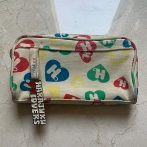 Harajuku Lovers Logo White Pencil Case